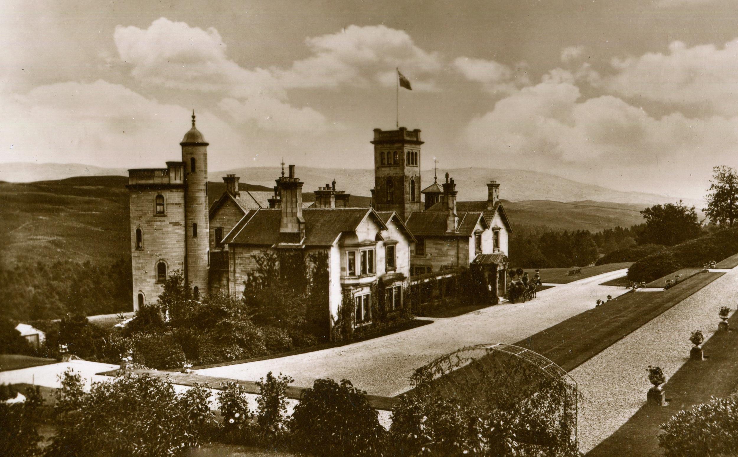 Auchen Castle, Scotland