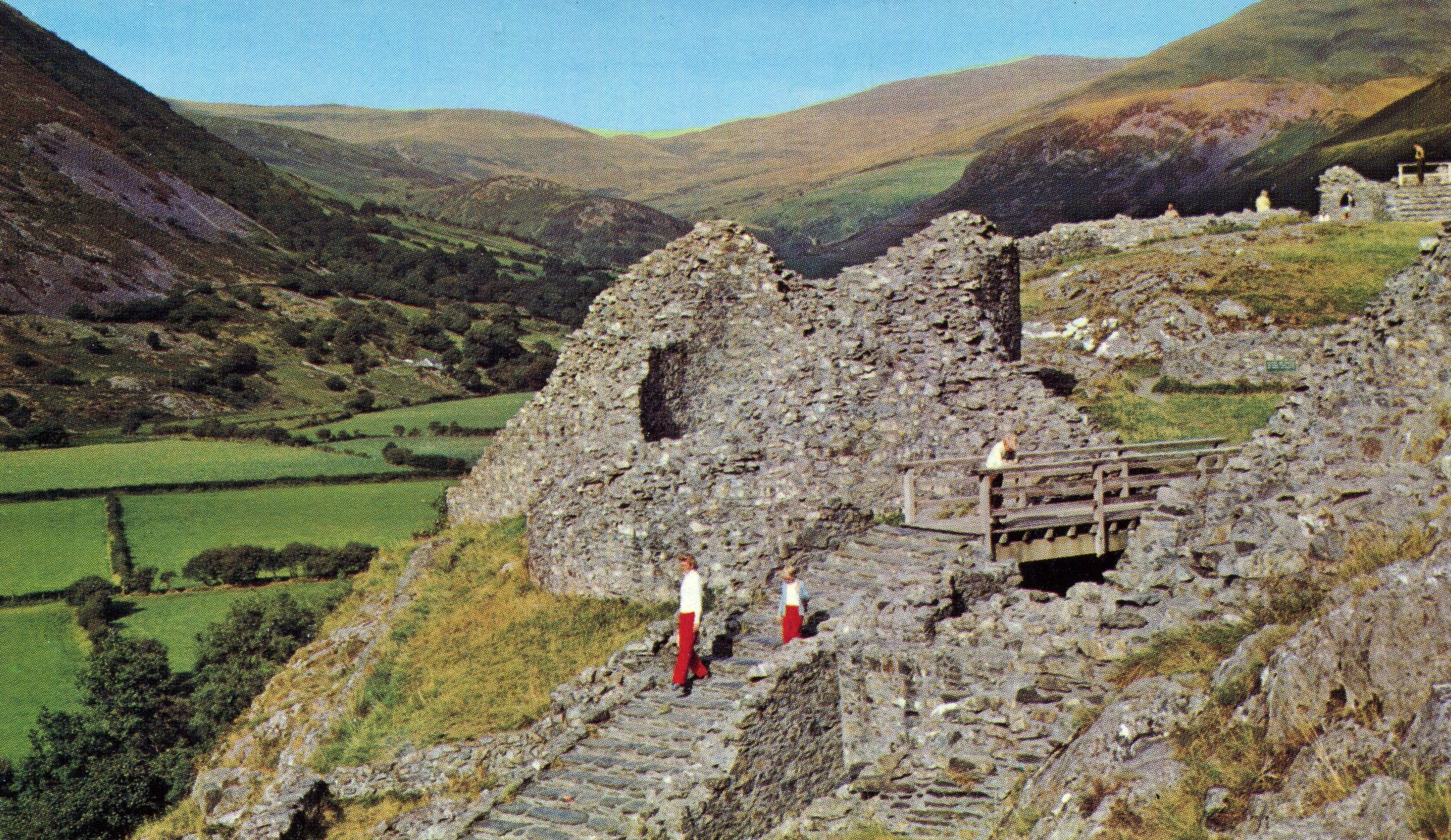 Castell y bere, Wales