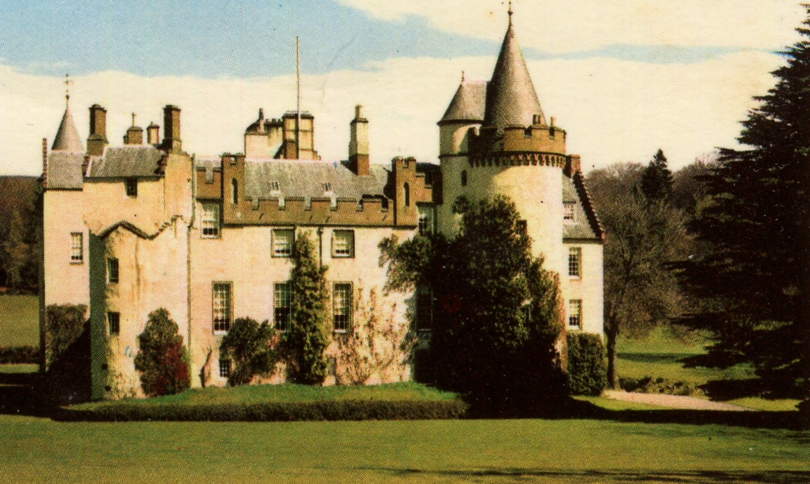 Cortachy Castle, Scotland