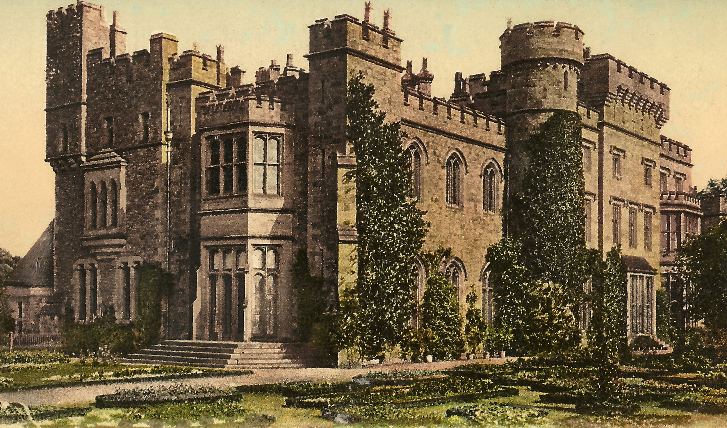 Hawarden Castle, Wales