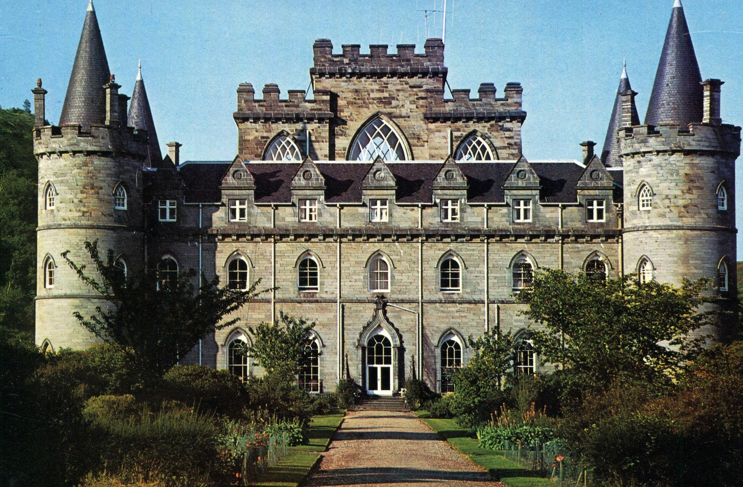 Inverary Castle, built 1760 - Argyllshire.jpg