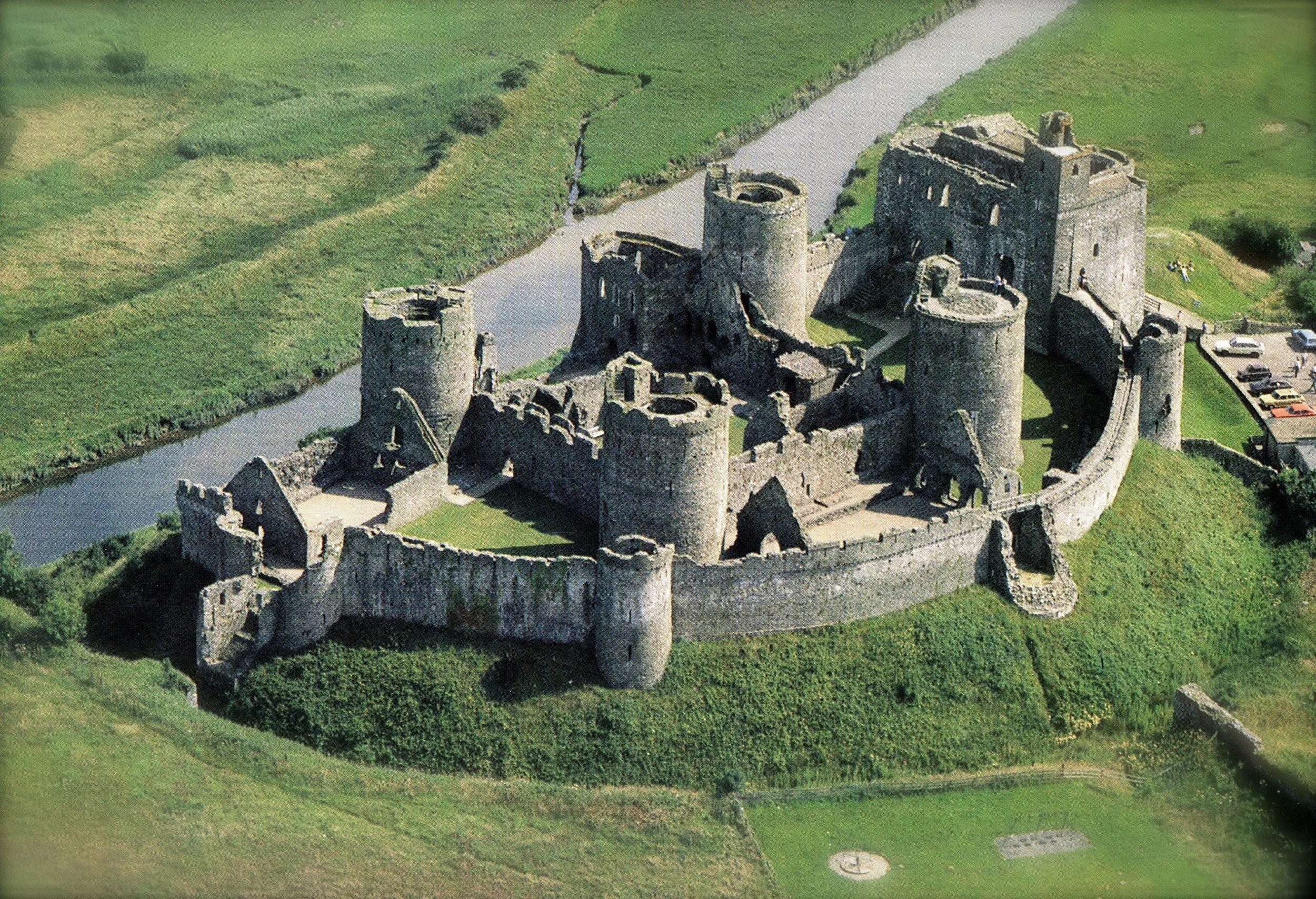 Kidwelly Castle, Wales
