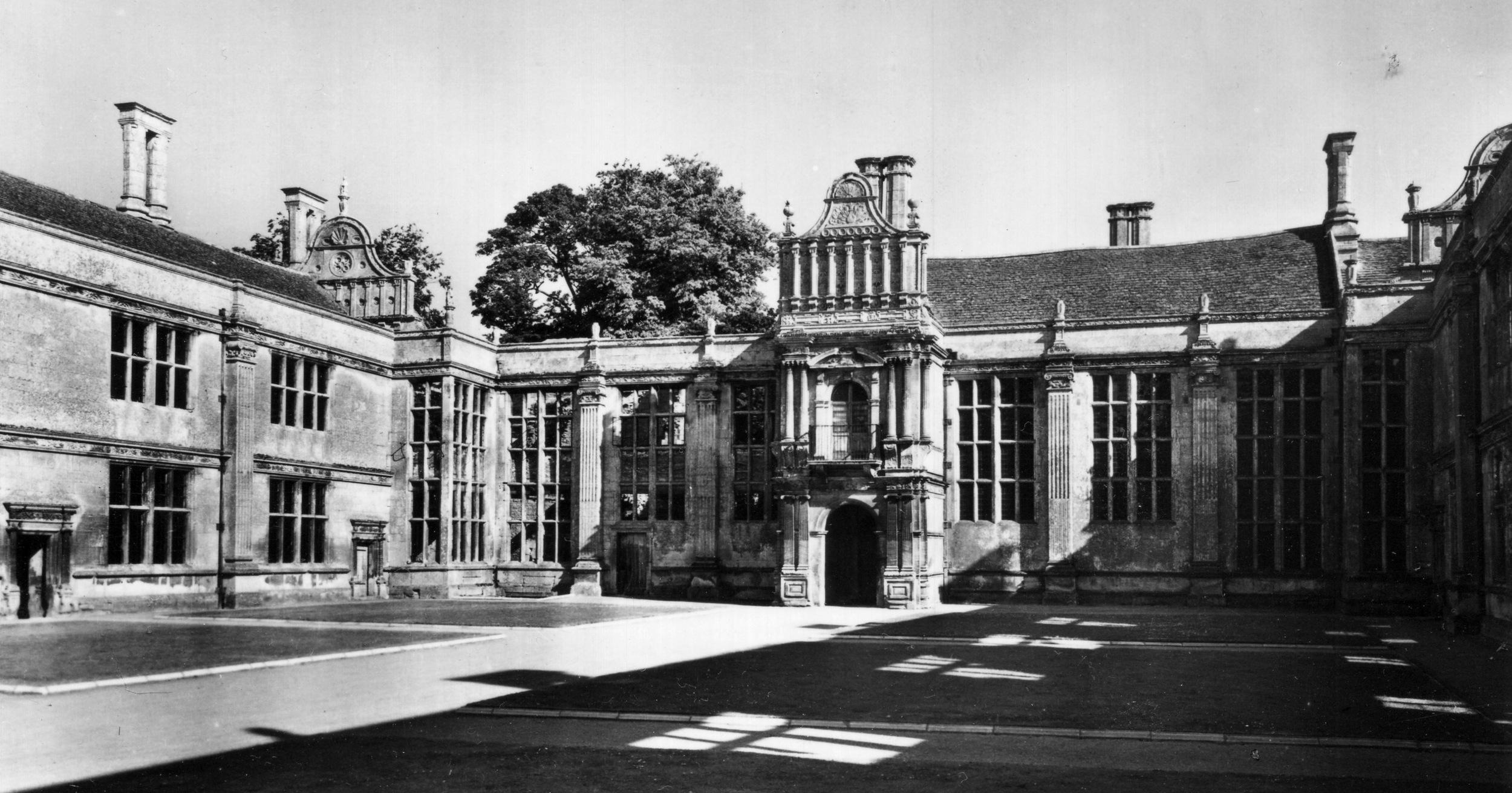 Kirby Hall, England