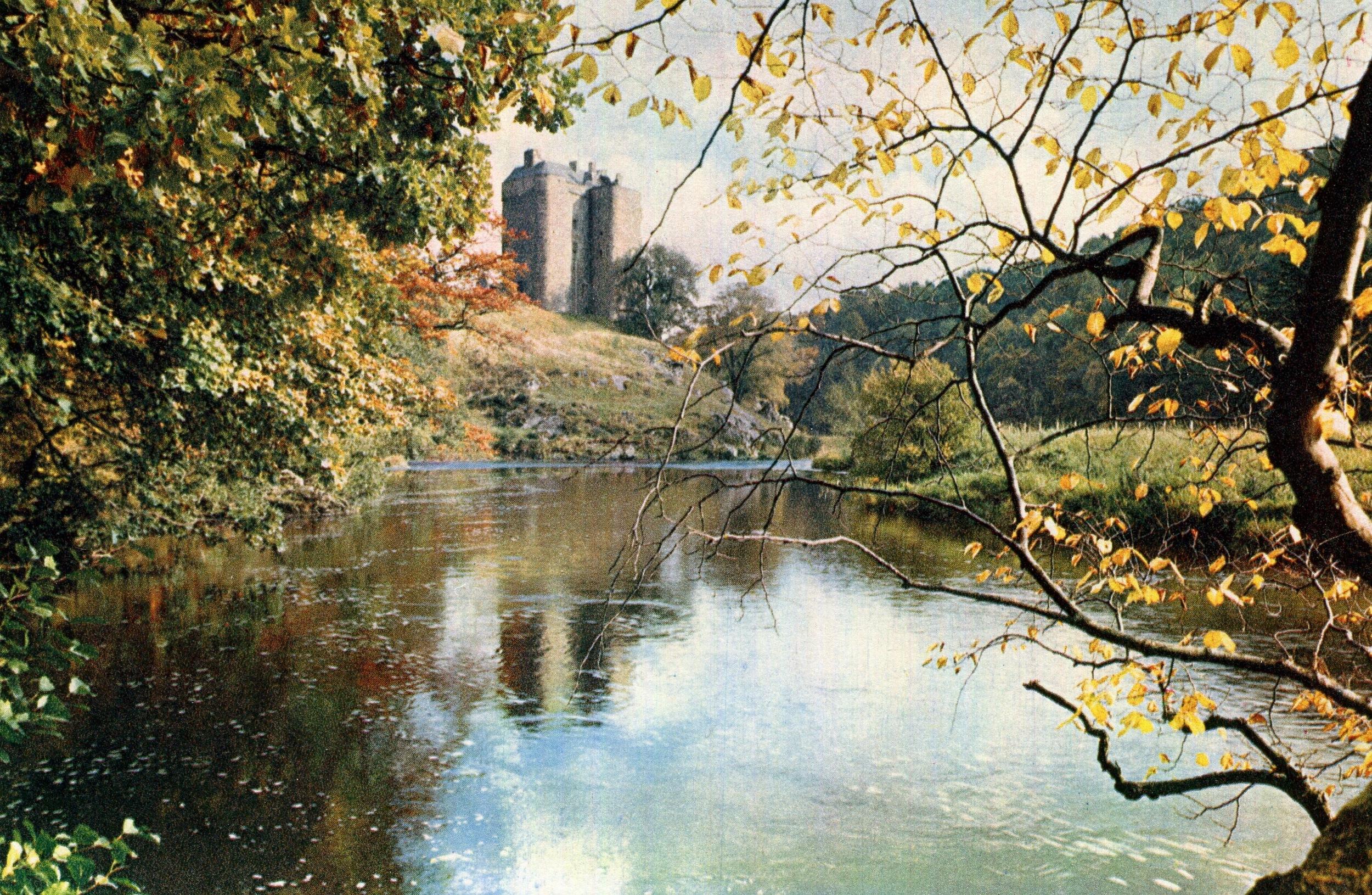 Neidpath Castle, Scotland