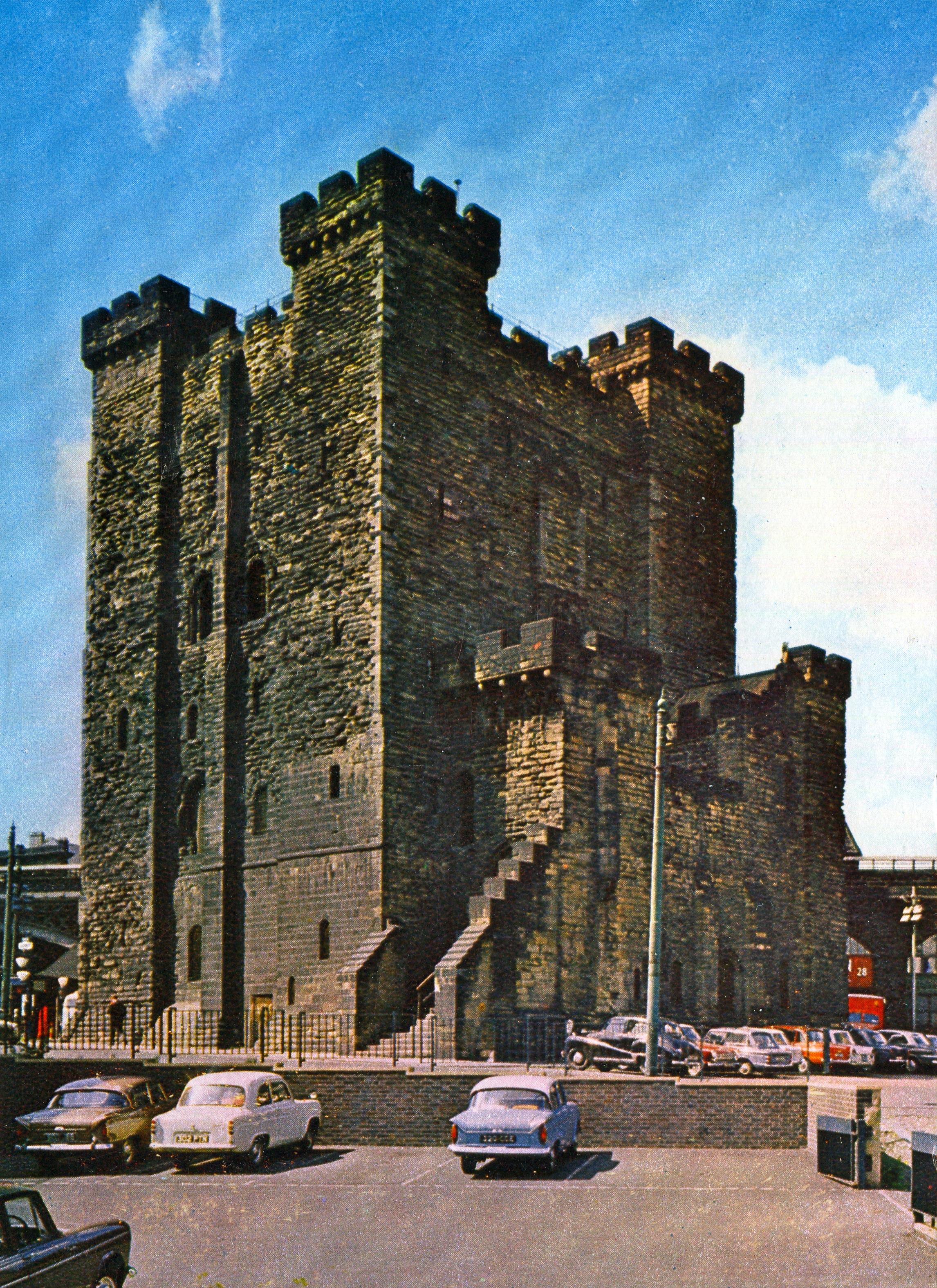 Newcastle upon Tyne Castle, England