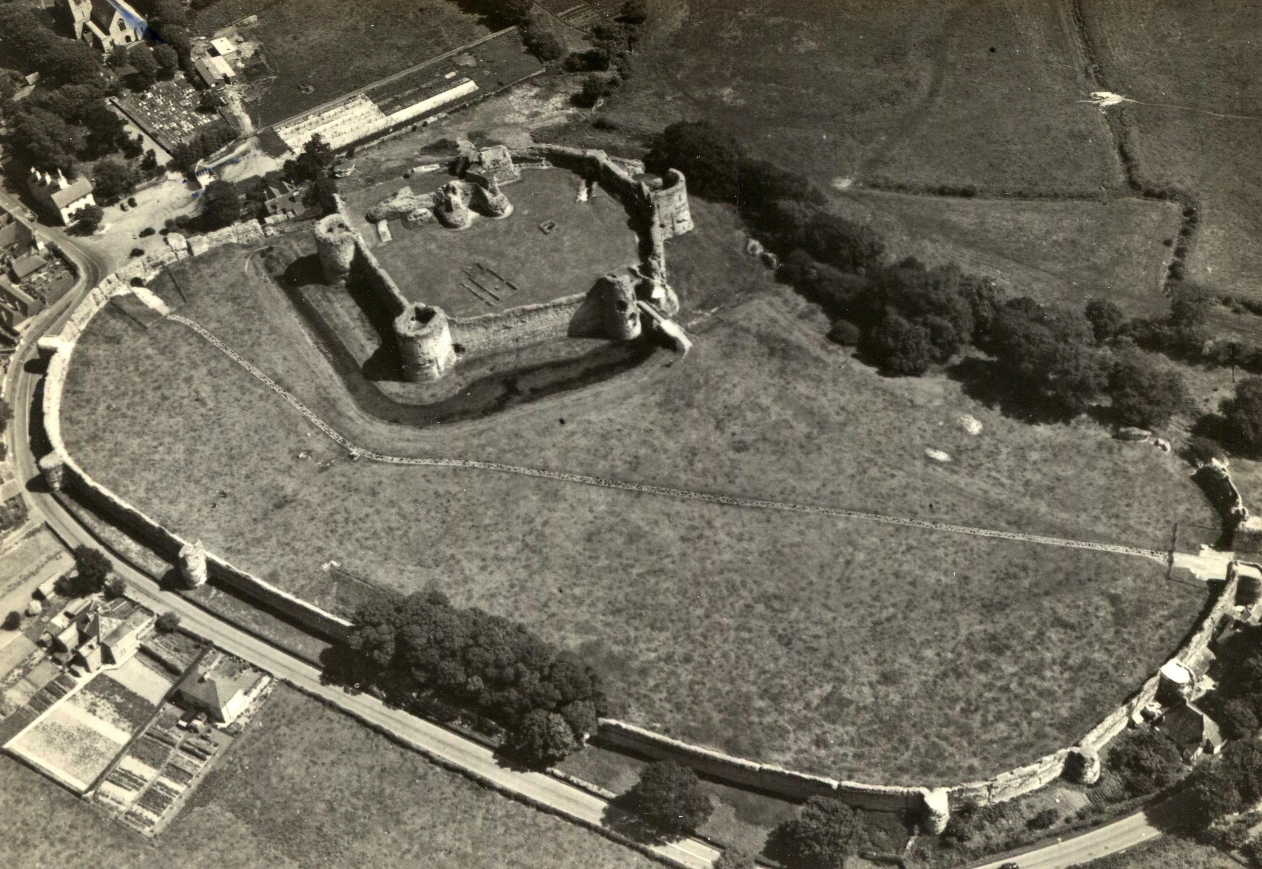 Pevensey Castle, England