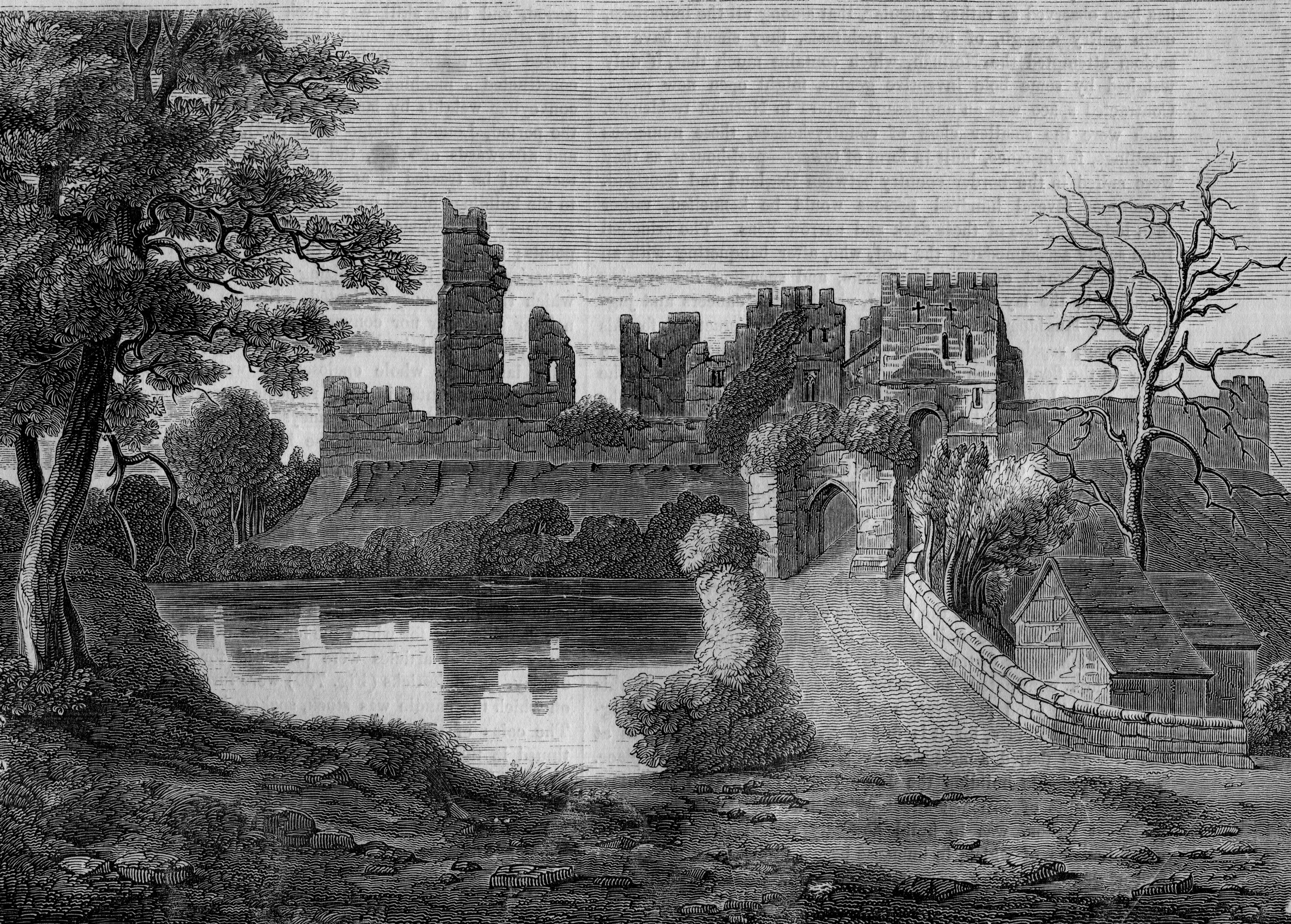 Prudhoe Castle, England
