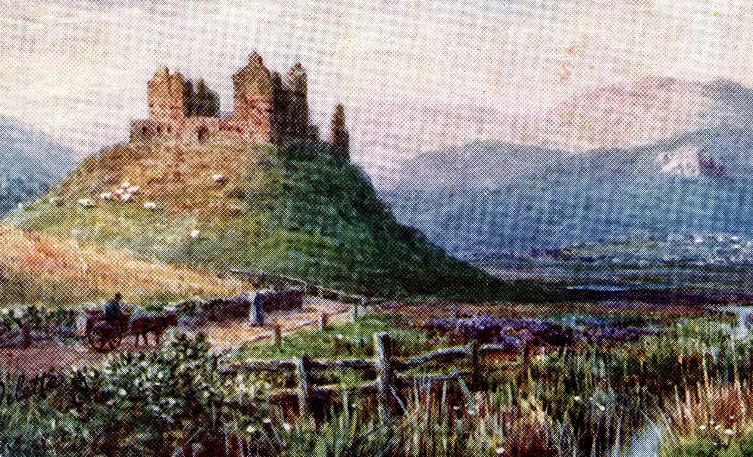 Ruthven Castle, Scotland
