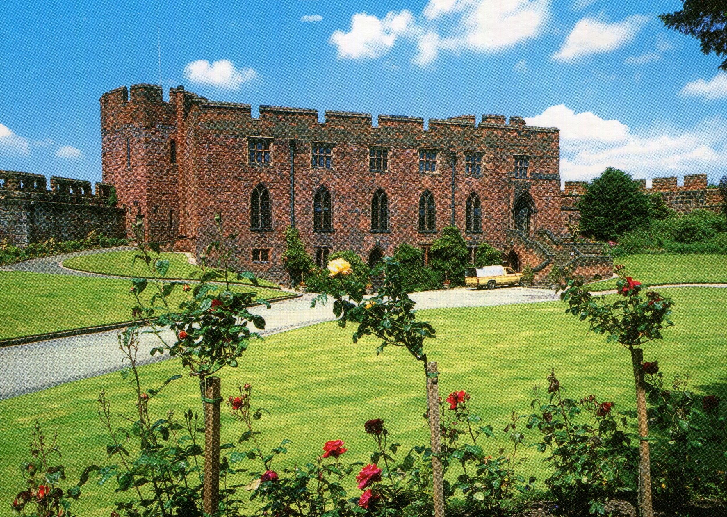 Shrewsbury Castle, England