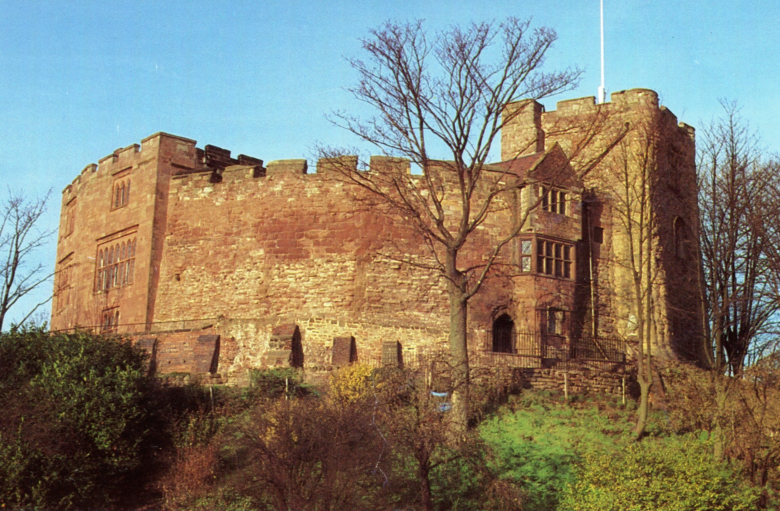 Tamworth Castle, England