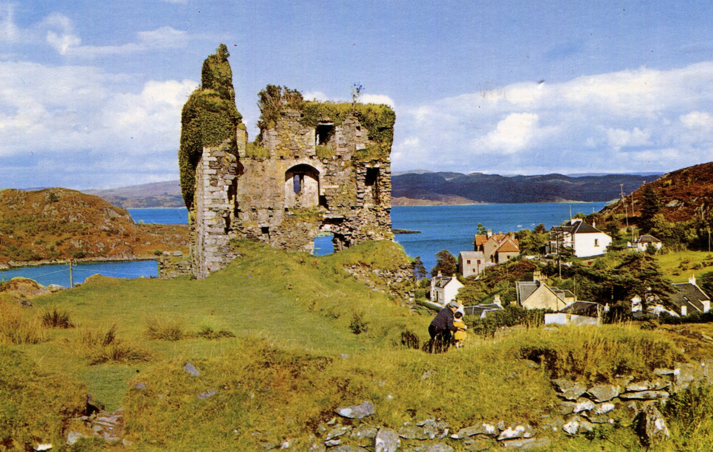 Tabret Castle, Scotland