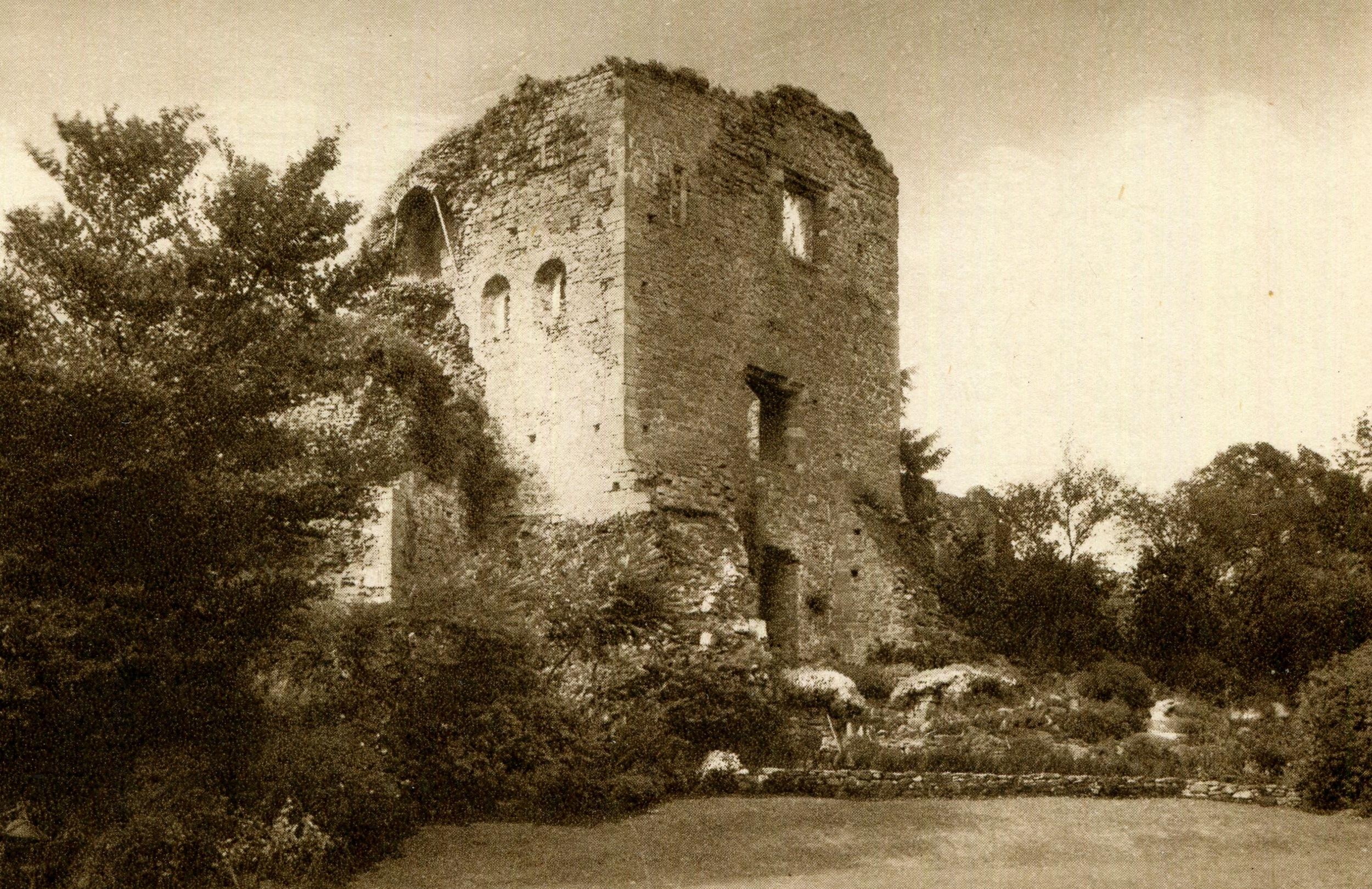 Usk Castle, Wales