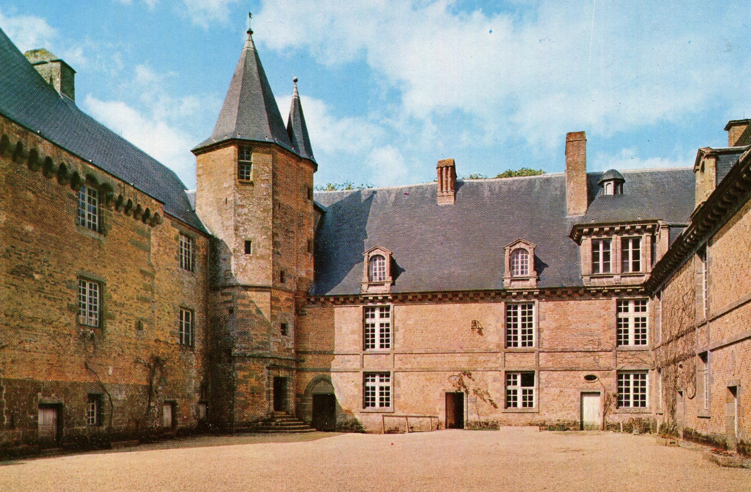 Carrouges Castle, France