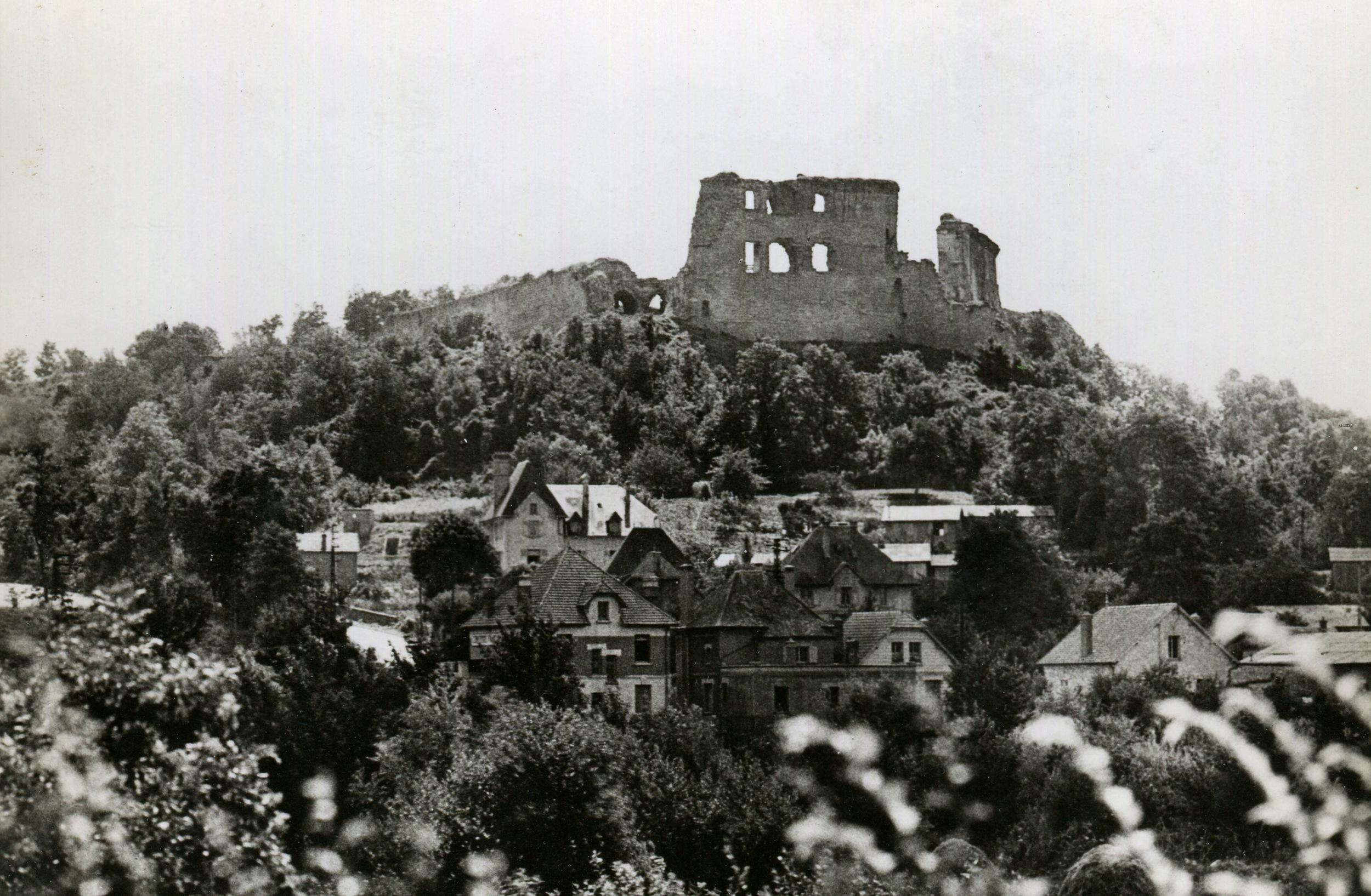 Coucy Castle, France