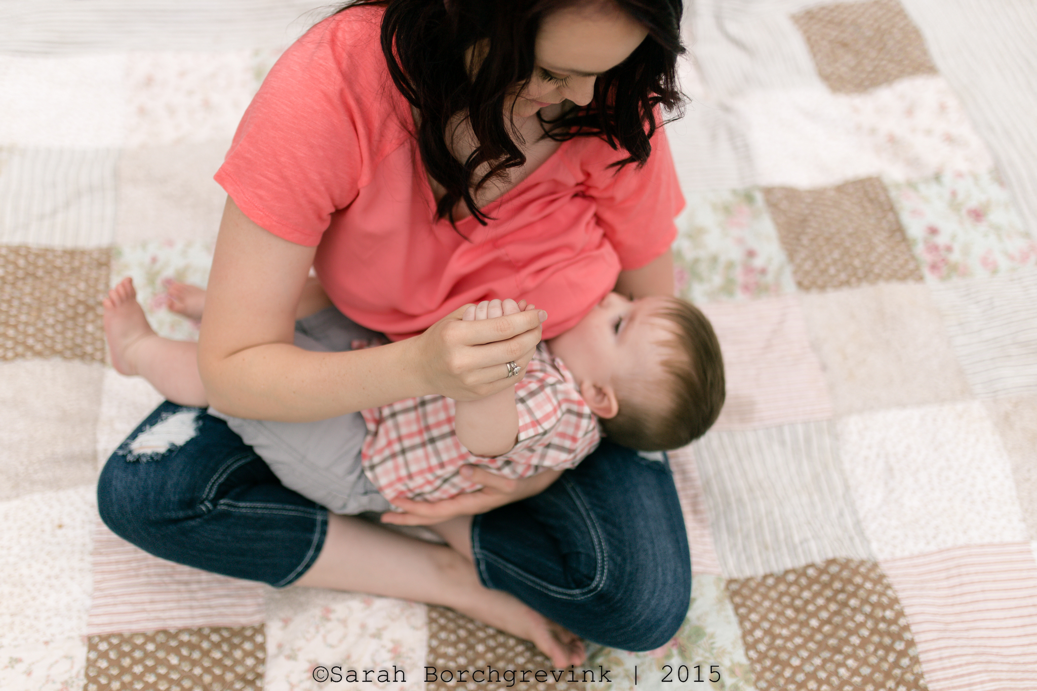nursing photography in the woodlands texas