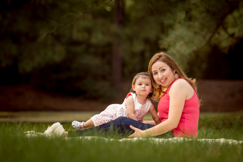 mother and son photography session outdoors