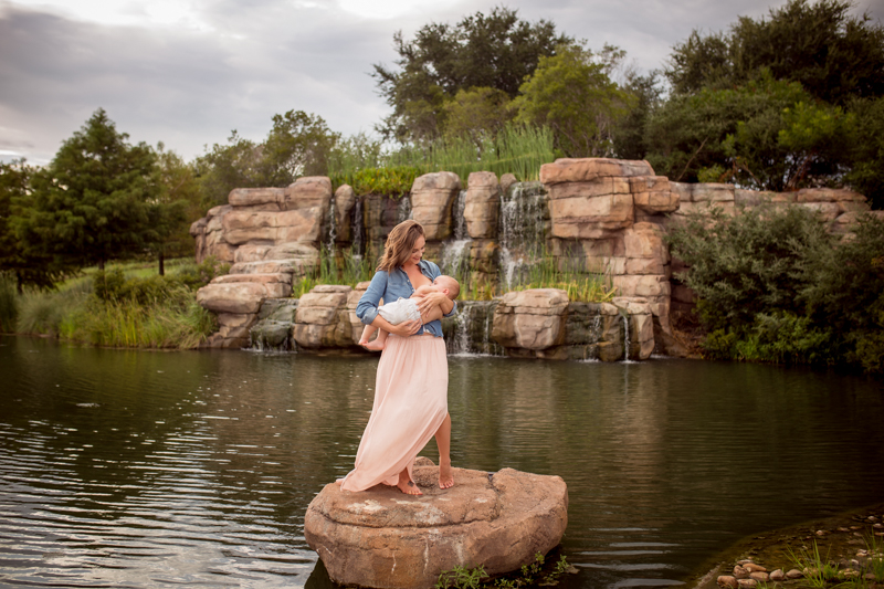 beautiful breastfeeding photography session cypress texas