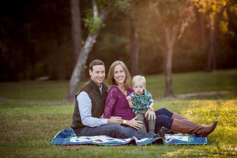 fall family session houston texas