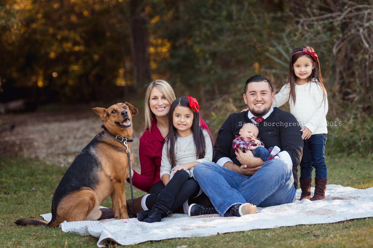 Cypress, TX Family Portraits