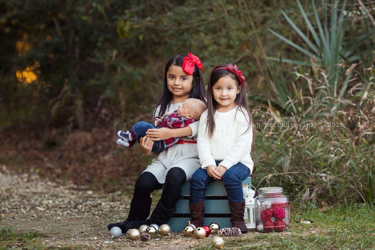 Outdoor Family Photos Northwest Houston Texas