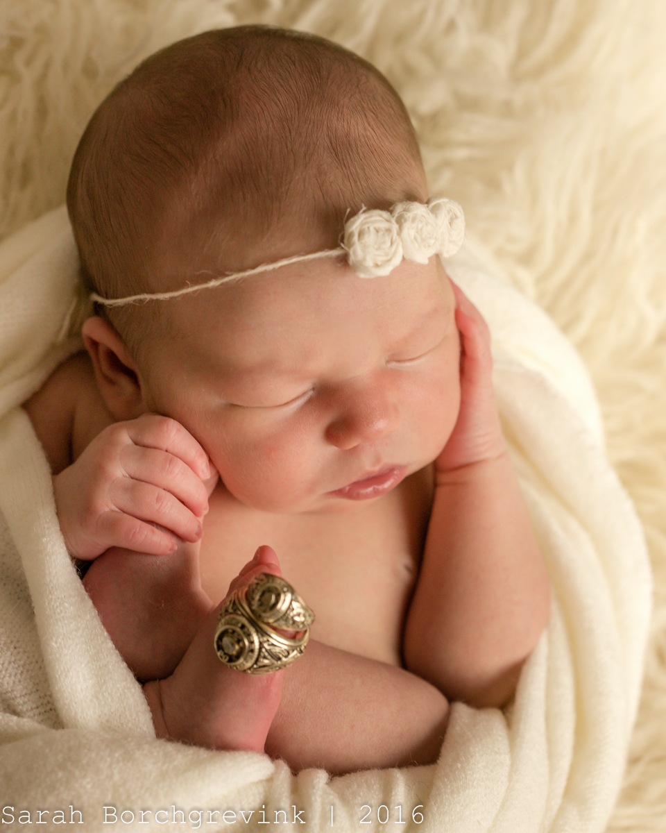 Custom Newborn Photographer | Sarah Borchgrevink