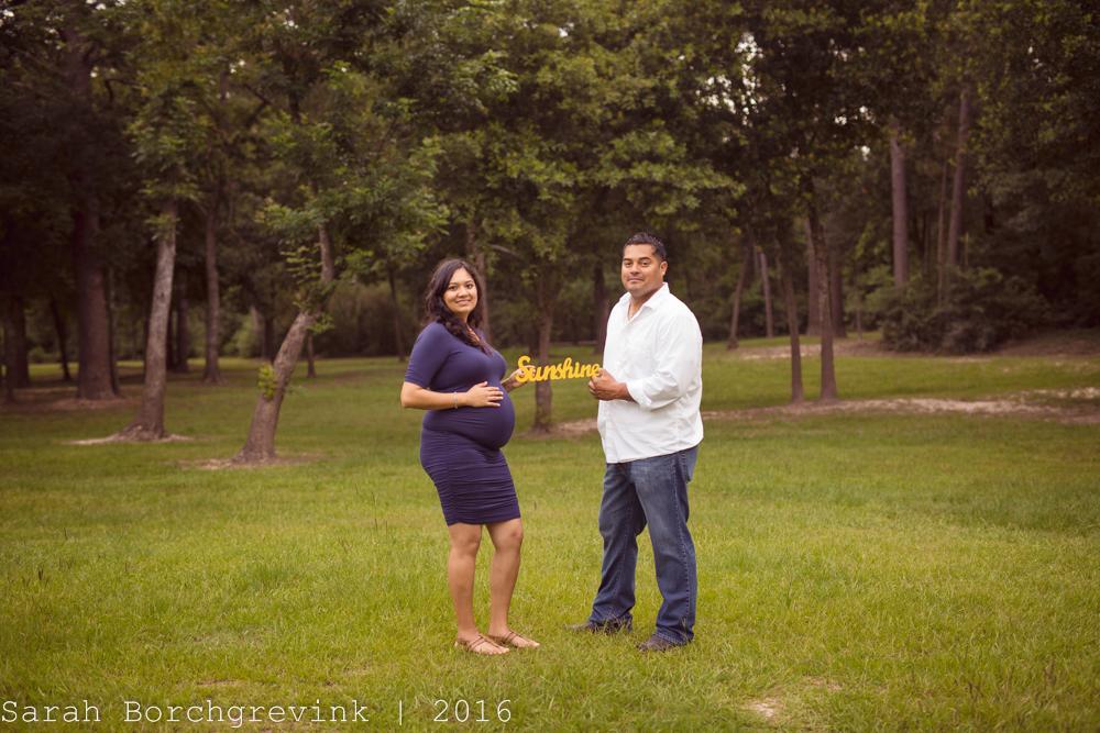 Spring TX Maternity Photographer