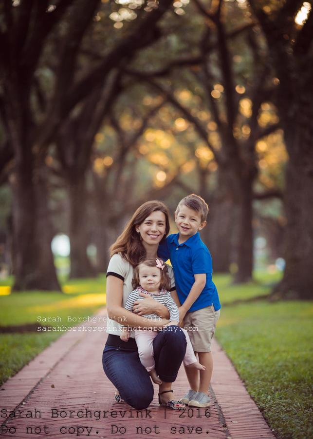 Outdoor Family Photographer Houston