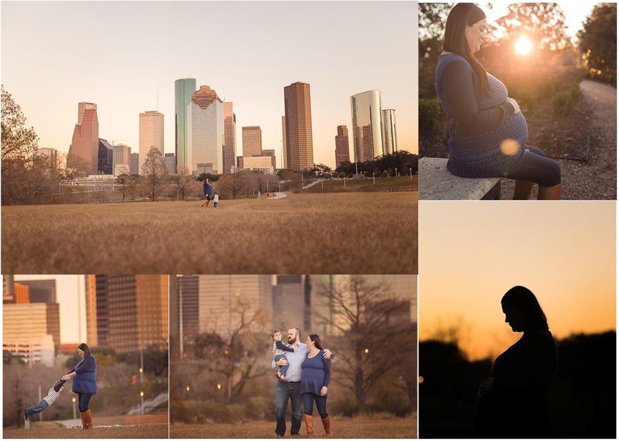 Downtown Houston TX Family Photographer