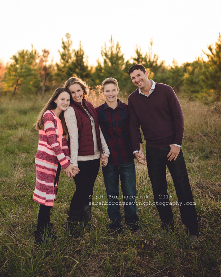 Tomball TX Family Portraits