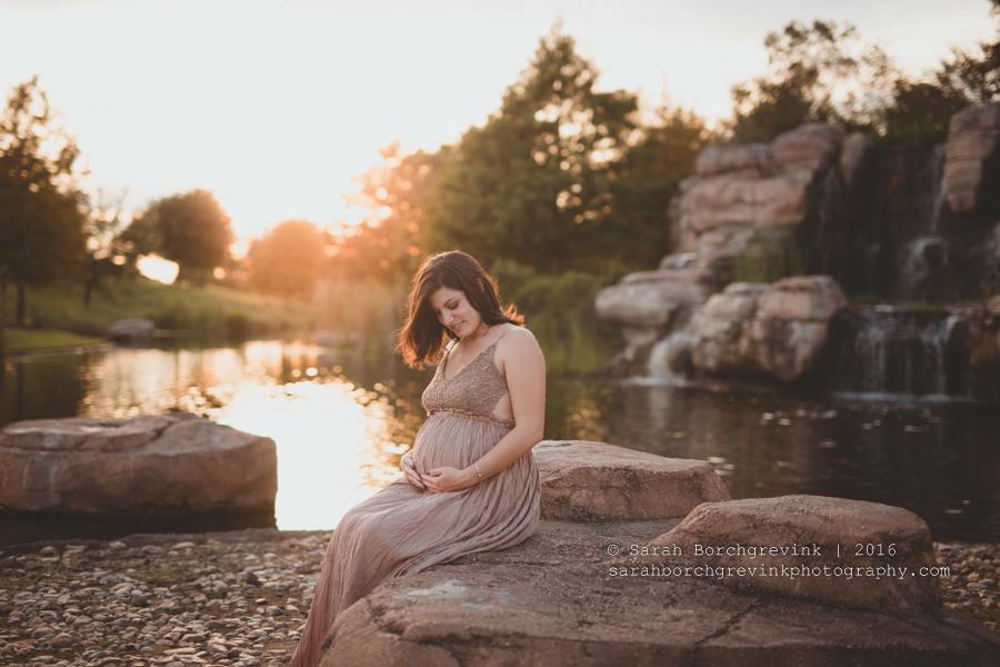 Cypress Maternity Photography | Sarah Borchgrevink | Houston TX Newborn Portraits