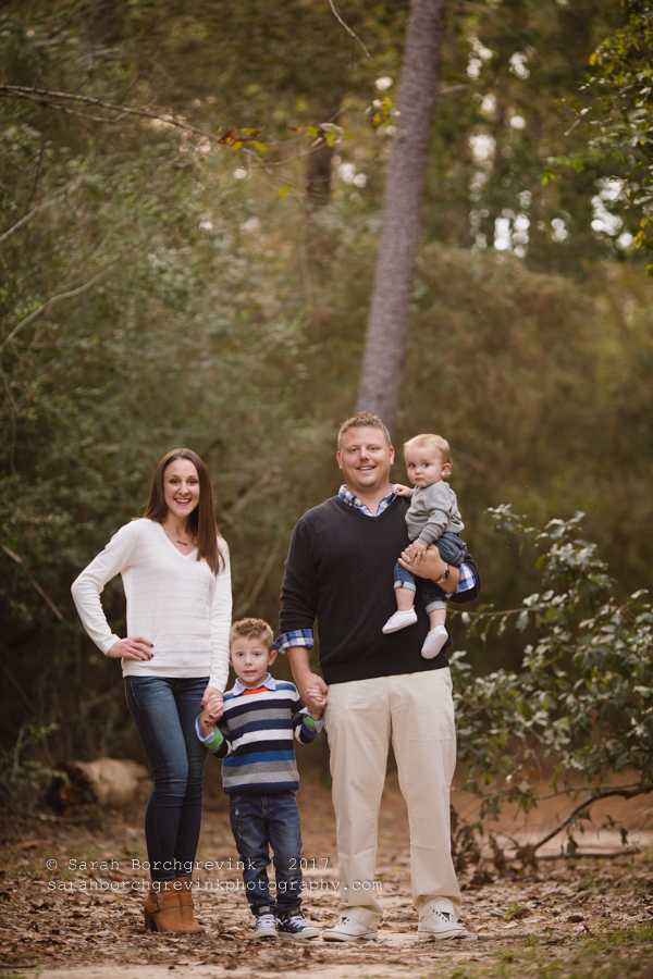 Outdoor Family Photography in Houston Texas