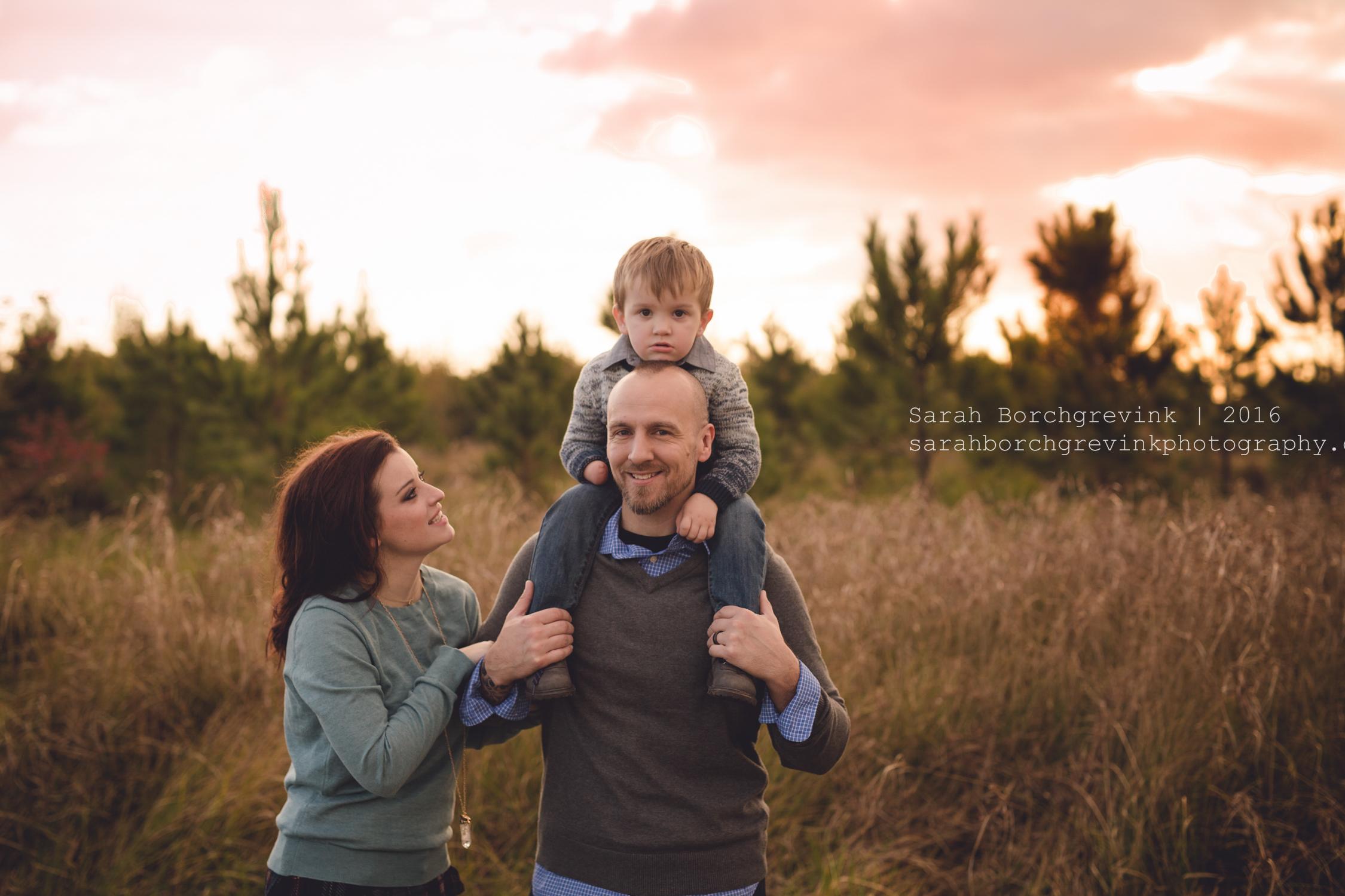 Family Portraits Spring Texas | Sarah Borchgrevink Photography
