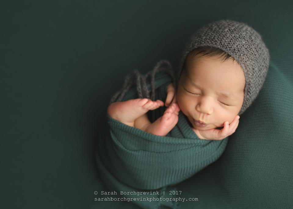 North Houston Baby Photographer | Spring TX Newborn Portraits