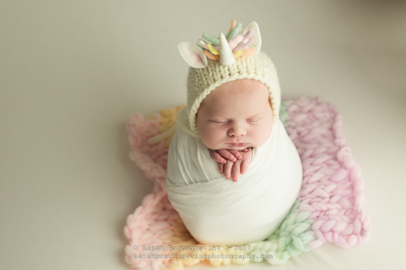 Rainbow Newborn Session Houston TX