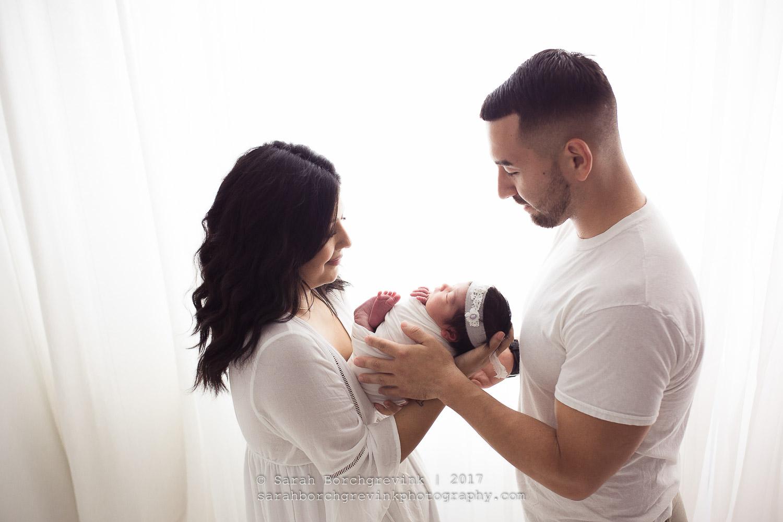 Newborn Family Photography Houston