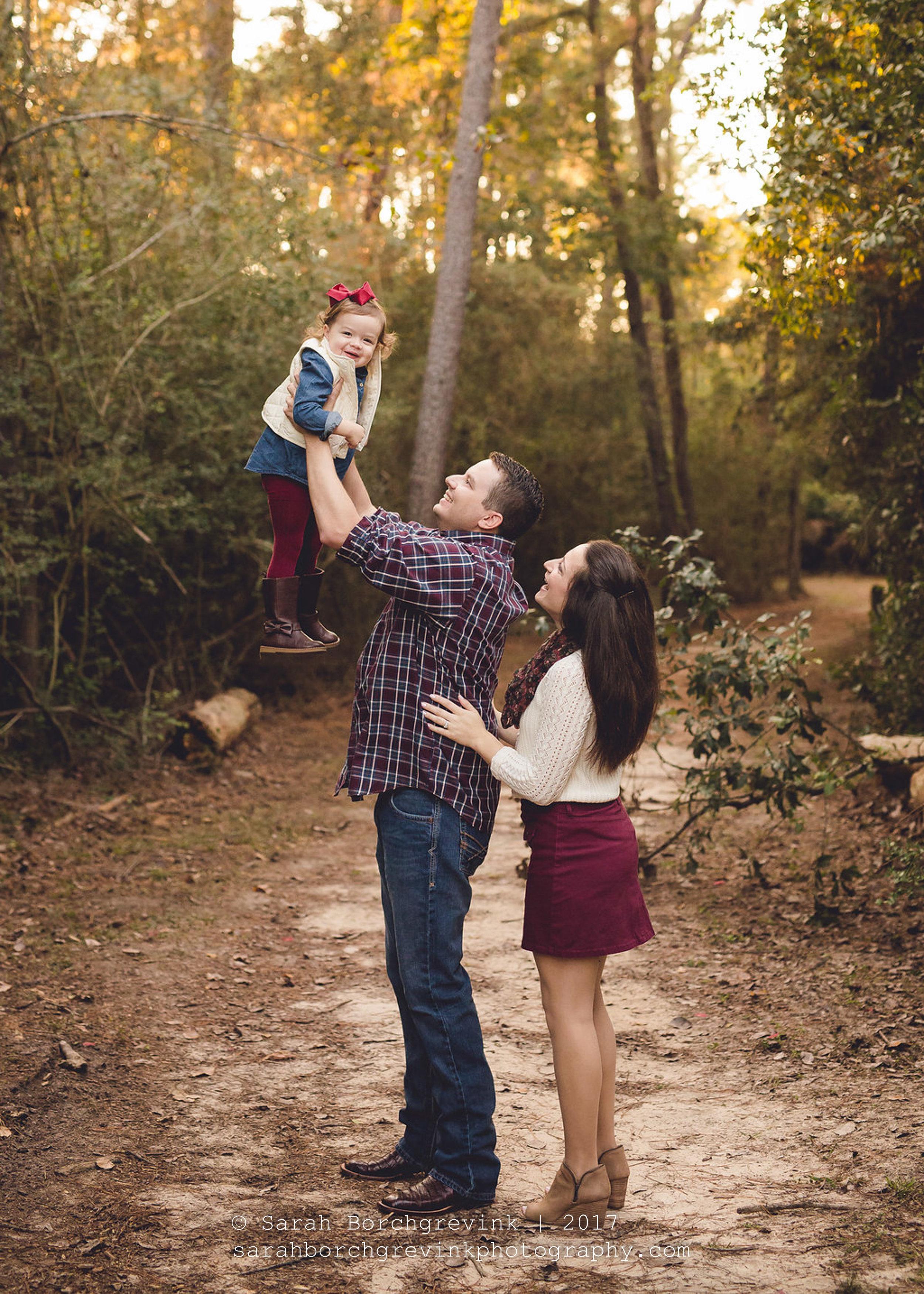 Outdoor Family Photos Houston