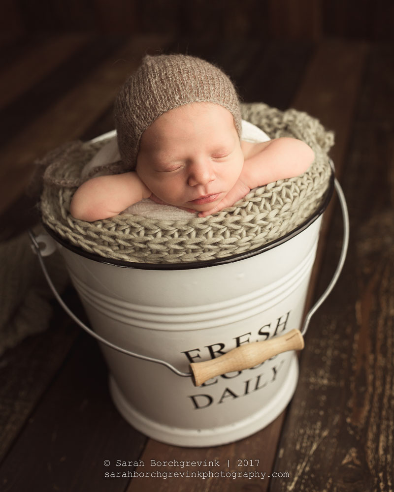 classic and natural newborn photography