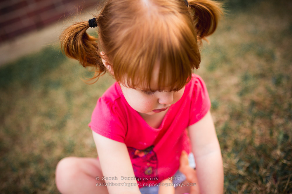 candid and natural child portraits