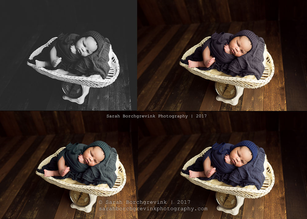 Vintage Inspired Newborn Portraiture