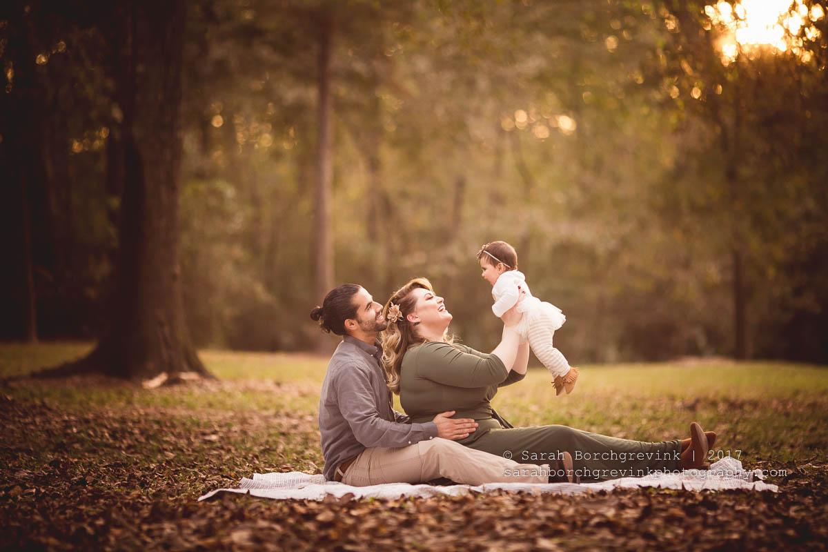 family outdoor photography houston