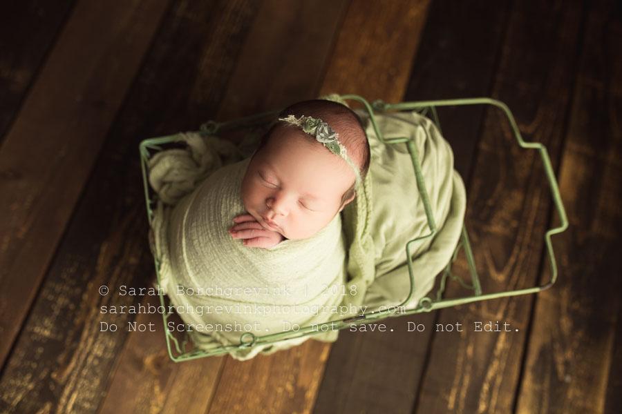 simple newborn wrap