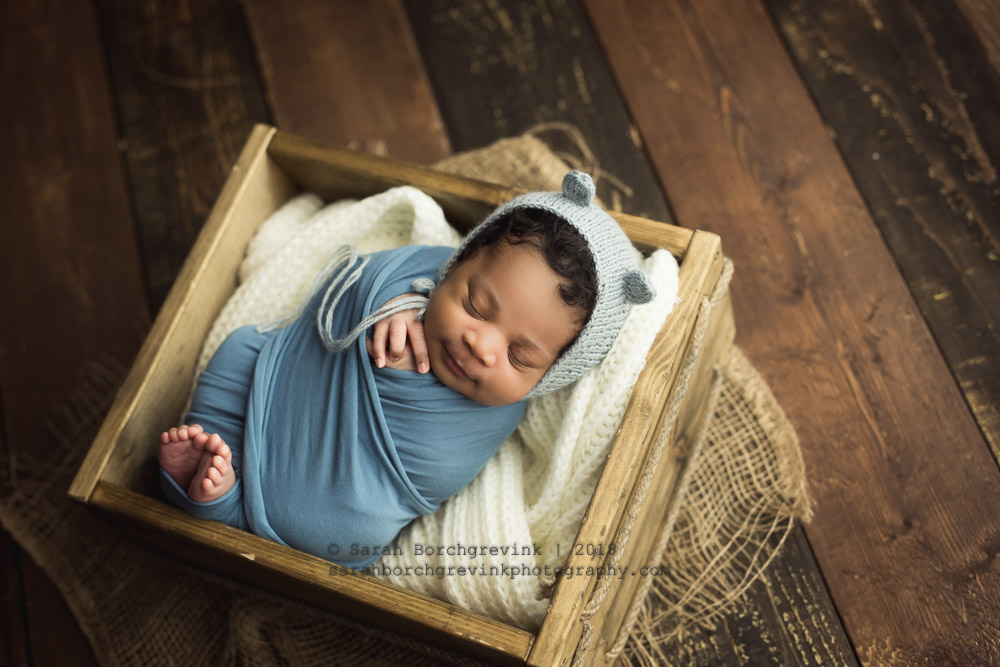 newborn boy photography animal hats
