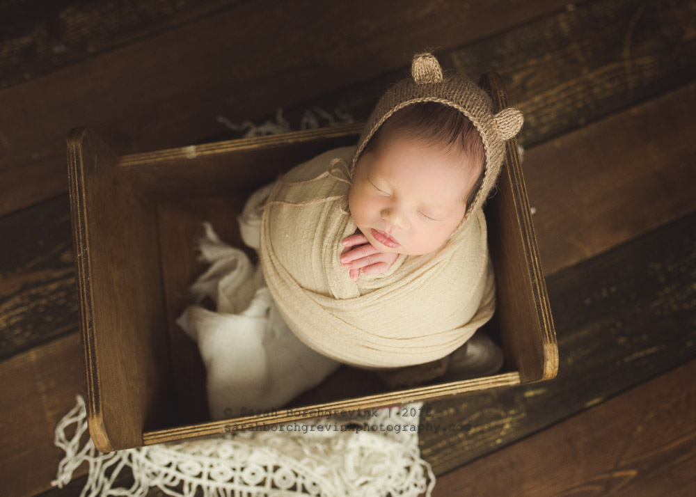 tan newborn color scheme ideas