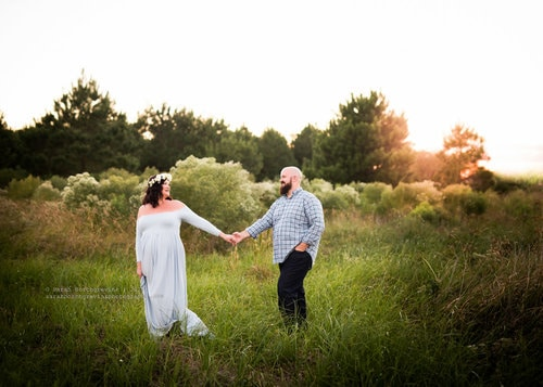 houston maternity couples session