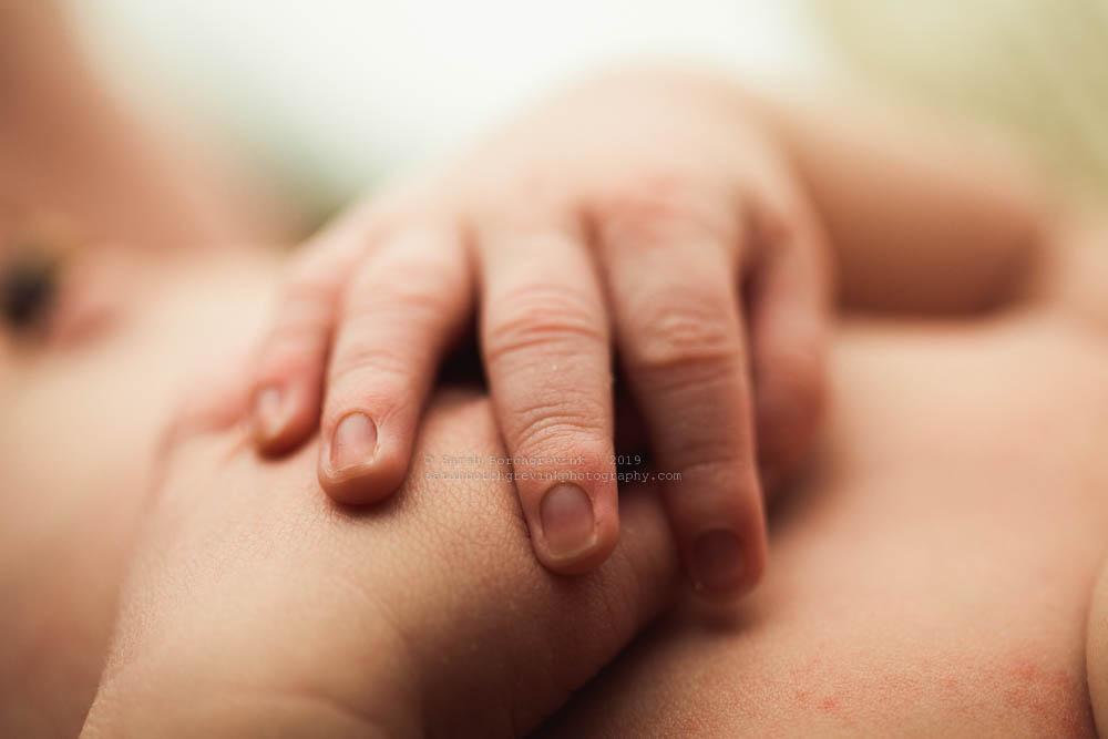 newborn baby macro photography