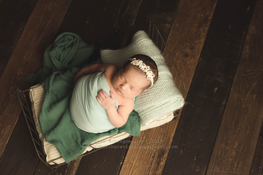 Studio Newborn Photography Props
