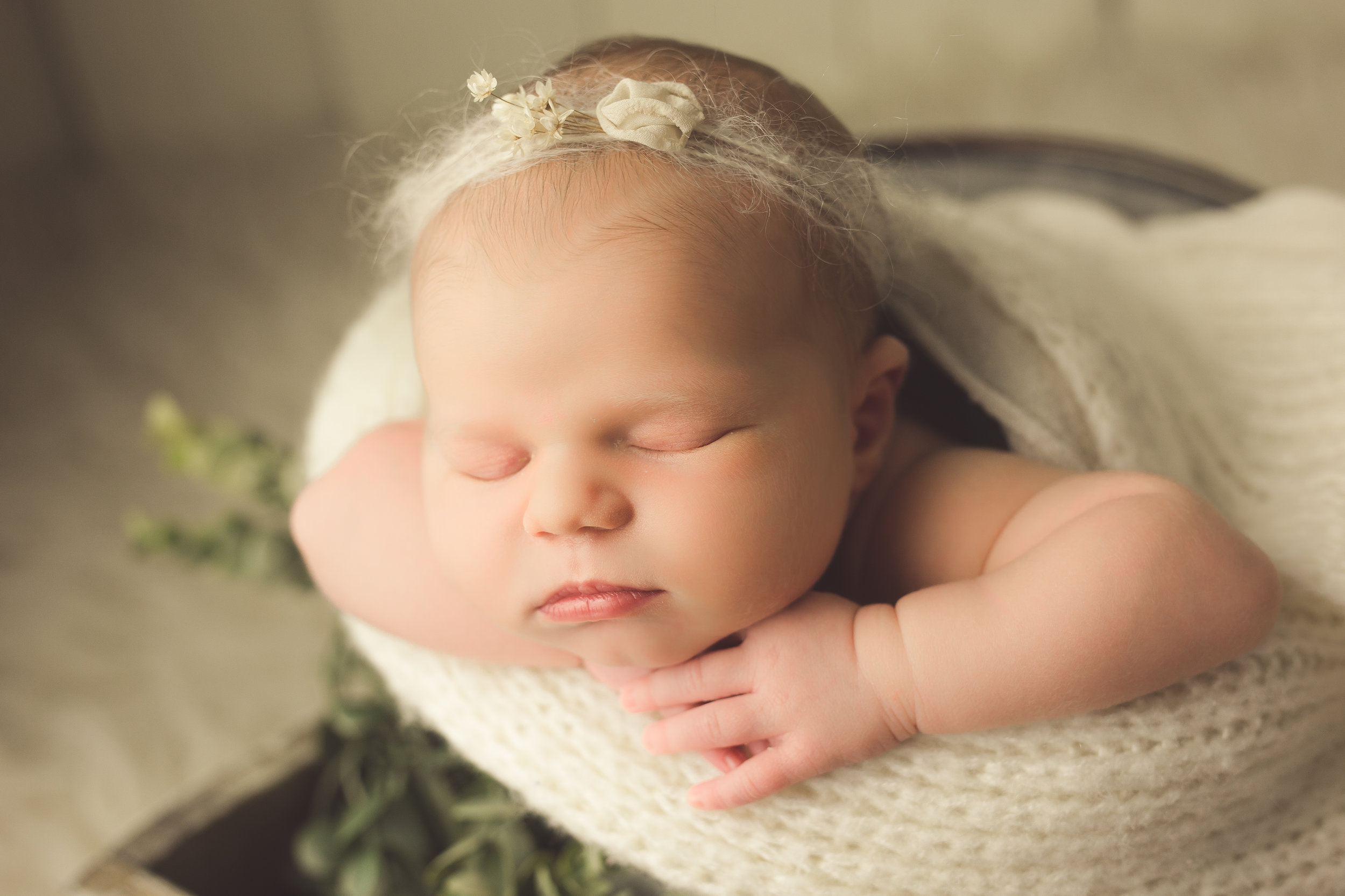 Newborn Girl Photography