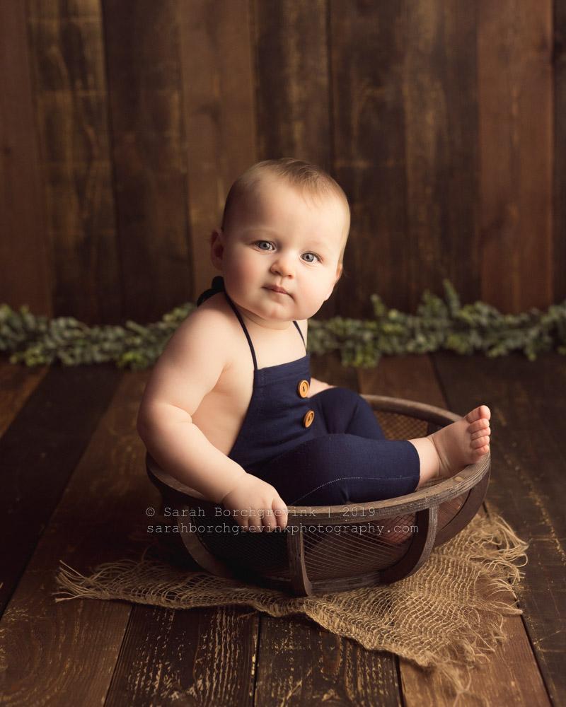infant baby boy photography spring photoshoot