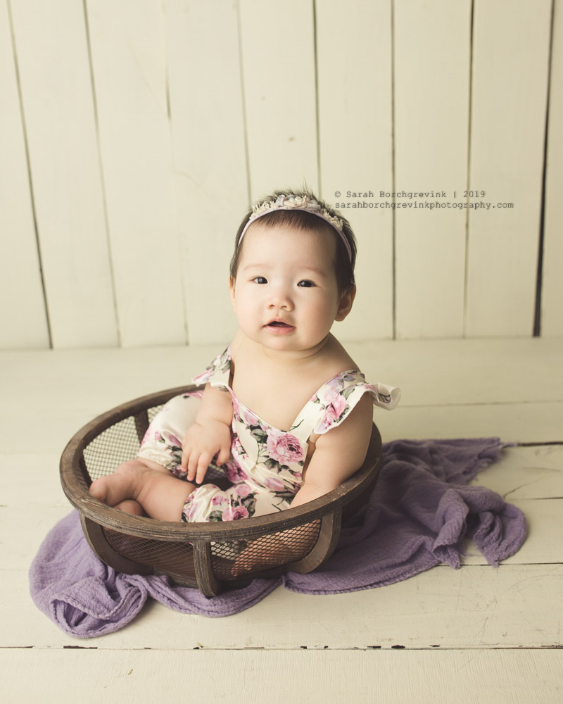 spring baby photography
