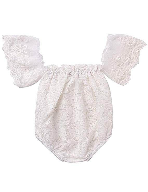 Baby Girl Off Shoulder Romper